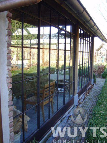 Stalen ramen deuren wuyts constructies heist op den berg wuyts constructies heist op - Smeedijzeren pergola ...